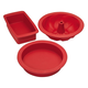 KitchenAid 3 pcs Silicone Bakeware Set