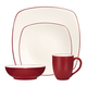 Colorwave Raspberry 4-Piece Set by Noritake