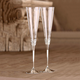 With Love Champagne Glasses by Vera Wang
