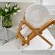 Danesco Folding Bamboo Dish Rack
