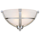 Minka Lavery Lighting 1420-84 2 Light Wall Sconce in Brushed Nickel finish