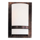 Minka Lavery Lighting 342-357 1 Light Wall Sconce in Iron Oxide finish