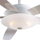 Minka Aire GF598-A Ceiling Fan Glass Replacement Large For Minka Aire Airus Ceiling Fan Models: F598-WH / F598-BN