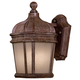 Minka Lavery Lighting 8690-1-61-PL 1 Light Wall Mount in Vintage Rust finish; ENERGYSTAR Compliant Fixture; Complies with California Title 24