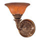 Metropolitan N202501-AN Wall Sconce in Antique Bronze finish with Brandy Alabaster Glass