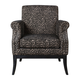 Kaius Tan and Black Accent Chair