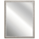 Millwright Lodge/Country/Rustic Mirror In Rubbed Gray