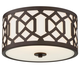 Libby Langdon for Crystorama Jennings Outdoor 3 Light Ceiling Mount