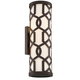 Libby Langdon for Crystorama Jennings Outdoor 2 Light Wall Mount