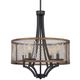 Marsden Commons Pendant In Smoked Iron w/Aged Gold