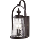 Sycamore Trail 4 Light Outdoor Wall Mount In Dorian Bronze