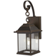 Mariners Pointe 1 Light Outdoor Wall Mount In Oil Rubbed Bronze w/ Gold High