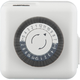 Progress P8524-01 Two-prong plug-in timer in White finish.