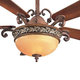 Minka Aire GF707 Ceiling Fan Glass Replacement For Minka Aire Salon Grand Ceiling Fan Model: F707-FLP