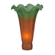 Amber/Green Pond Lily Shade