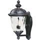 Maxim 40422WGOB Carriage House VX 2-Light Outdoor Wall Lantern in Oriental Bronze with Water Glass glass.