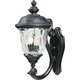 Maxim 40423WGOB Carriage House VX 2-Light Outdoor Wall Lantern in Oriental Bronze with Water Glass glass.