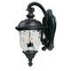 Maxim 40496WGOB Carriage House VX 2-Light Outdoor Wall Lantern in Oriental Bronze with Water Glass glass.