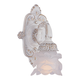 Crystorama 5221-AW Paris Flea Market Natural Wrought Iron Wall Sconce Accented with Tulip Glass