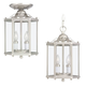 Seagull Lighting 5232-962 Two Light Hall Foyer Fixture in Brushed Nickel finish
