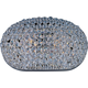 Maxim 39881BCPS Glimmer 2-Light Wall Sconce in Plated Silver with Beveled Crystal glass.