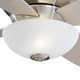Minka Aire GF514 Ceiling Fan Glass Replacement for Minka Aire Zen Ceiling Fan Models: F514-BN / F514-WH