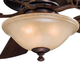 Minka Aire GF620-3 Ceiling Fan Glass Replacement (Avorio Mezzo Glass) Minka Aire Bolo Ceiling Fan Model: F620-DBB