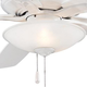 Minka Aire GF522 Ceiling Fan Glass Replacement for Minka Aire Mojo Ceiling Fan Models: F522-BN / ORB / WH