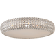 ET2 Contemporary Lighting E21800-20PC Bijou 4-light Flush Mount in Polished Chrome finish with Crystals
