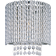 ET2 Contemporary Lighting E23130-10PC Spiral 1-light Wall Sconce in Polished Chrome finish