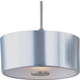 ET2 Contemporary Lighting EP96008-09SN Percussion 1-light RapidJack Pendant in Satin Nickel finish with Frost White glass