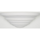 Sunset Lighting F8992-29 12 inch Cermc Tiered Wall in Textured White Finish