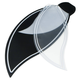 Craftmade BBL52-BLK Fan Blades Black and Transluscent