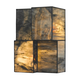 Cubist Collection 2 light sconce in Brushed Nickel