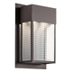Outdoor Wall 2Lt LED in Architectural Bronze