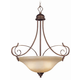 Craftmade Exteriors Preston Place - Augustine 3 Light Inverted Pendant in Augustine