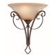 Craftmade Exteriors Preston Place - Augustine 1 Light Half Wall Sconce in Augustine