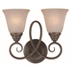 Craftmade Exteriors Cordova - Old Bronze 2 Light Wall Sconce in Old Bronze