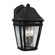 Londontowne 3 - Light Outdoor Sconce in Black