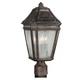 Londontowne 3 - Light Outdoor Post in Weathered Chestnut