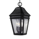 Londontowne 3 - Light Outdoor Pendant in Black