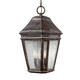 Londontowne 3 - Light Outdoor Pendant in Weathered Chestnut