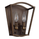 Yarmouth 2 - Light Sconce in Painted Aged Brass