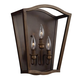 Yarmouth 3 - Light Sconce in Painted Aged Brass