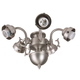 Craftmade F545CFL-AG 5 Light Aged Bronze Ceiling Fan Light Fixture