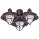LK40VNB 3 Light Venetian Bronze Ceiling Fan LED Light Fixture