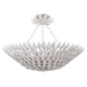 Broche 6 Light Matte White Ceiling Mount
