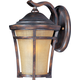 Balboa VX LED 1-Light Outdoor Wall Mount in Copper Oxide w/Golden Frost Glass