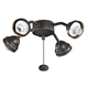 Kichler 350102OZ 4 Light Olde Bronze Ceiling Fan Light Fixture