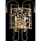 Leduc 2 Light Wall Mount in Florentine Gold
